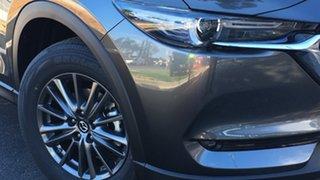 2021 Mazda CX-5 KF4WLA Maxx SKYACTIV-Drive i-ACTIV AWD Machine Grey 6 Speed Sports Automatic Wagon.
