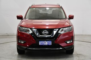 2017 Nissan X-Trail T32 ST-L X-tronic 4WD Red 7 Speed Constant Variable Wagon.