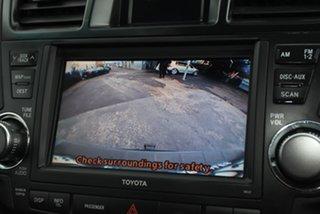 2011 Toyota Kluger GSU45R MY11 Grande AWD Blue 5 Speed Sports Automatic Wagon