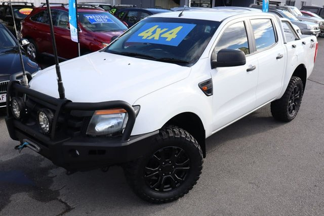 Used Ford Ranger PX XL Moorooka, 2011 Ford Ranger PX XL White 6 Speed Manual Utility