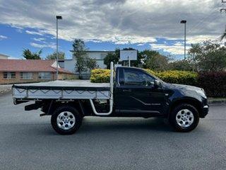 2014 Holden Colorado RG DX Black 6 Speed Manual Single Cab.