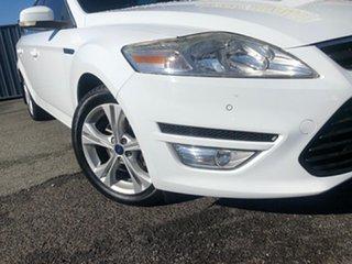2011 Ford Mondeo MC Zetec TDCi White 6 Speed Sports Automatic Wagon.