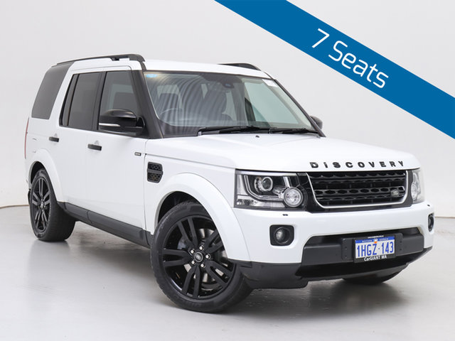 Used Land Rover Discovery MY16 3.0 SDV6 HSE, 2015 Land Rover Discovery MY16 3.0 SDV6 HSE White 8 Speed Automatic Wagon