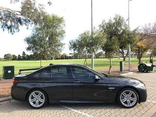 2013 BMW 5 Series F10 LCI 528i Steptronic M Sport Grey 8 Speed Sports Automatic Sedan.