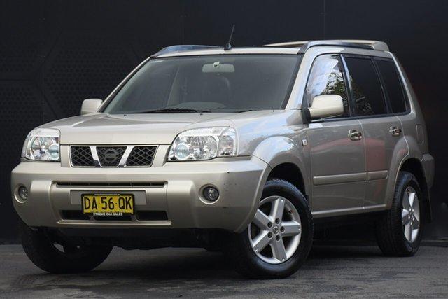 Used Nissan X-Trail T30 II TI Campbelltown, 2003 Nissan X-Trail T30 II TI Gold 5 Speed Manual Wagon