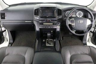 2010 Toyota Landcruiser VDJ200R 09 Upgrade GXL (4x4) White 6 Speed Automatic Wagon