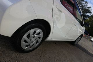 2015 Toyota Prius c NHP10R Hybrid White Continuous Variable Hatchback