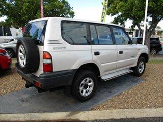 1997 Toyota Landcruiser PRADO RV6 Grey 5 Speed Manual Wagon.