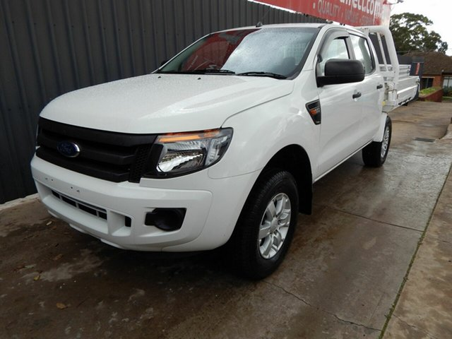 Used Ford Ranger PX XL Blair Athol, 2012 Ford Ranger PX XL White 6 Speed Sports Automatic Cab Chassis