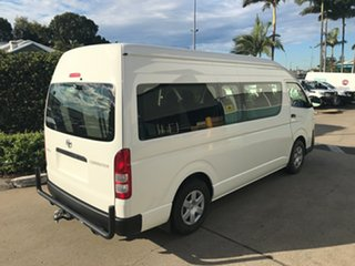 2018 Toyota HiAce KDH223R Commuter High Roof Super LWB French Vanilla 4 speed Automatic Bus