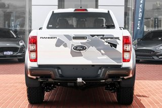 2021 Ford Ranger PX MkIII 2021.25MY Raptor White 10 Speed Sports Automatic Double Cab Pick Up.