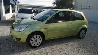 2005 Ford Fiesta WP LX Green 4 Speed Automatic Hatchback