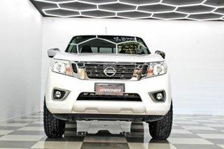 2018 Nissan Navara D23 Series III MY18 RX (4x4) White 6 Speed Manual Dual Cab Chassis