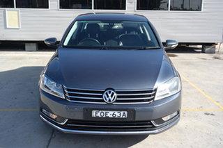 2013 Volkswagen Passat Type 3C MY13.5 130TDI DSG Highline Grey 6 Speed Sports Automatic Dual Clutch.