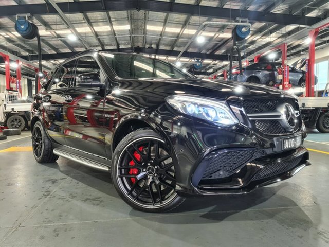 Pre-Owned Mercedes-Benz GLE-Class W166 GLE63 AMG SPEEDSHIFT PLUS 4MATIC S Oakleigh, 2015 Mercedes-Benz GLE-Class W166 GLE63 AMG SPEEDSHIFT PLUS 4MATIC S Obsidian Black 7 Speed
