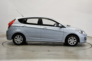 2011 Hyundai Accent RB Active Clean Blue 4 Speed Sports Automatic Hatchback