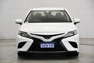 2018 Toyota Camry GSV70R SX White 8 Speed Sports Automatic Sedan.