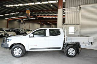 2016 Holden Colorado RG MY17 LS Crew Cab White 6 Speed Sports Automatic Cab Chassis
