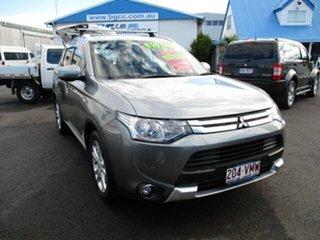 2014 Mitsubishi Outlander Grey 4 Speed Automatic Wagon.