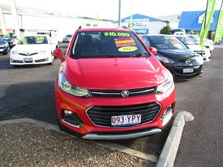2017 Holden Trax TJ LT Turbo Red 6 Speed Automatic Wagon.