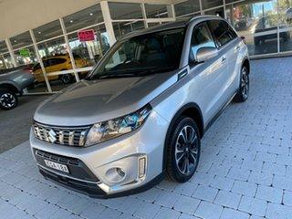 2019 Suzuki Vitara Turbo White Sports Automatic Wagon.