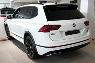 2021 Volkswagen Tiguan 5N MY21 162TSI Wolfsburg Edition DSG 4MOTION Allspace White 7 Speed.