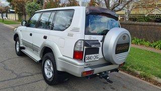 2002 Toyota Landcruiser Prado KZJ95R GXL (4x4) White 4 Speed Automatic 4x4 Wagon