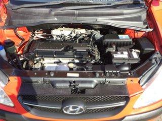 2010 Hyundai Getz TB MY09 S Red 4 Speed Automatic Hatchback