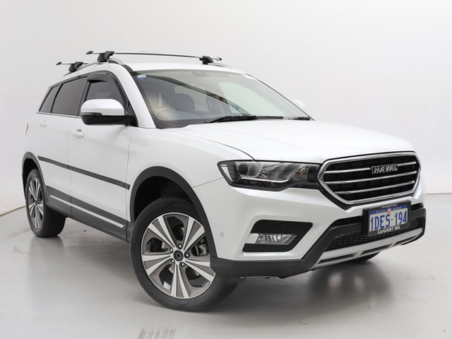 Used Haval H6 MKY Lux, 2020 Haval H6 MKY Lux White 6 Speed Auto Dual Clutch Wagon