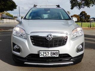 2016 Holden Trax TJ MY16 LTZ Silver 6 Speed Automatic Wagon.