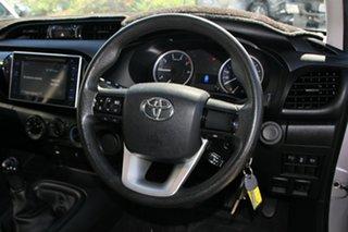 2016 Toyota Hilux GUN123R SR Extra Cab 4x2 Silver 5 Speed Manual Utility