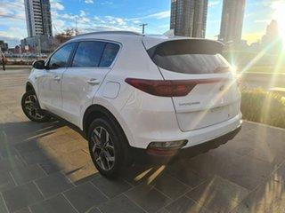 2019 Kia Sportage QL MY19 SLi AWD White 8 Speed Sports Automatic Wagon.