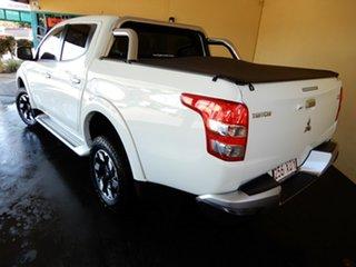 2017 Mitsubishi Triton MQ MY18 Exceed (4x4) White 5 Speed Automatic Dual Cab Utility.