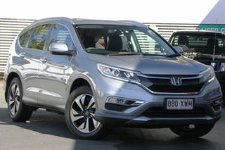 2017 Honda CR-V RM Series II MY17 VTi Silver 5 Speed Automatic Wagon.