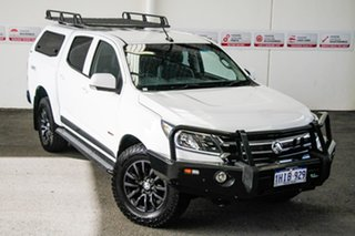 2018 Holden Colorado RG MY19 LS (4x4) White 6 Speed Automatic Crew Cab Pickup.