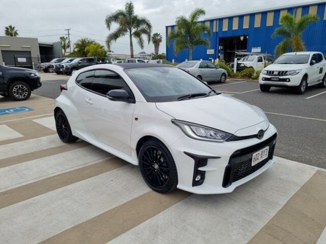 Pre-Owned Toyota Yaris Gxpa16R GR Gladstone, 2020 Toyota Yaris Gxpa16R GR Glacier White 6 Speed Manual Hatchback