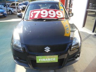 2006 Suzuki Swift RS416 Sport Black 5 Speed Manual Hatchback.