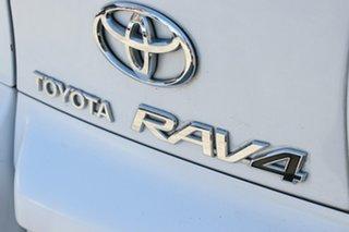 2008 Toyota RAV4 ACA33R CV (4x4) Glacier White 4 Speed Automatic Wagon
