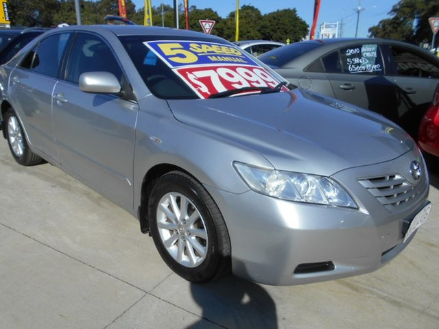 Used Toyota Camry ACV40R Altise Springwood, 2008 Toyota Camry ACV40R Altise Silver 5 Speed Manual Sedan