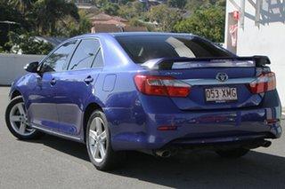 2012 Toyota Aurion GSV50R Touring Blue 6 Speed Sports Automatic Sedan.