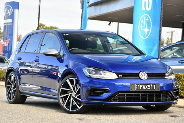 Used Volkswagen Golf 7.5 MY20 R DSG 4MOTION Melville, 2020 Volkswagen Golf 7.5 MY20 R DSG 4MOTION Blue 7 Speed Sports Automatic Dual Clutch Wagon