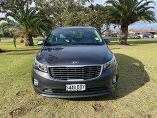 2017 Kia Carnival YP MY18 SLi Graphite 6 Speed Sports Automatic Wagon.