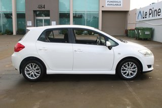 2009 Toyota Corolla ZRE152R MY09 Edge White 4 Speed Automatic Hatchback