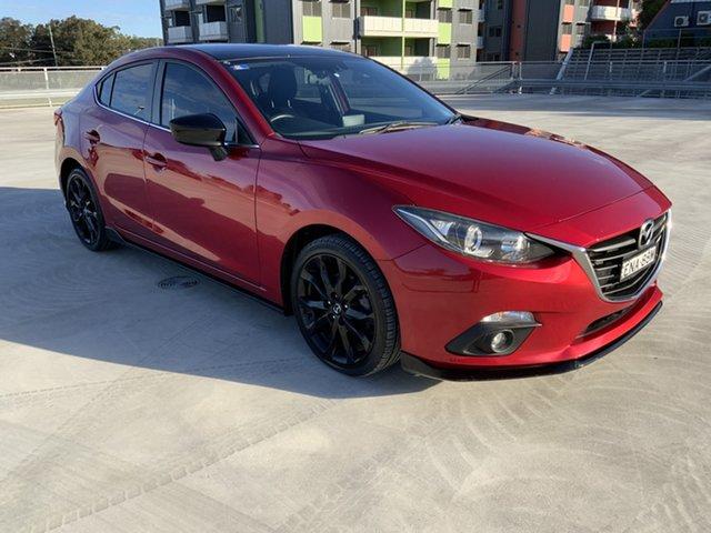 Used Mazda 3 BM5236 SP25 SKYACTIV-MT Cardiff, 2015 Mazda 3 BM5236 SP25 SKYACTIV-MT Red 6 Speed Manual Sedan