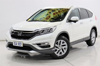 2016 Honda CR-V RM Series II MY17 VTi-S White 5 Speed Sports Automatic Wagon.