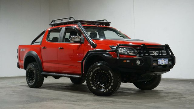 Used Holden Colorado RG MY17 LTZ Pickup Crew Cab Welshpool, 2016 Holden Colorado RG MY17 LTZ Pickup Crew Cab Red 6 Speed Manual Utility