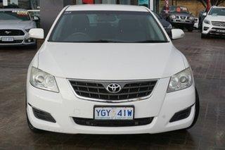 2008 Toyota Aurion GSV40R AT-X White 6 Speed Sports Automatic Sedan.