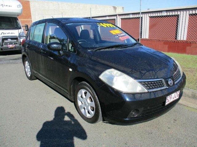 Used Nissan Tiida C11 ST Kippa-Ring, 2006 Nissan Tiida C11 ST Black 4 Speed Automatic Hatchback