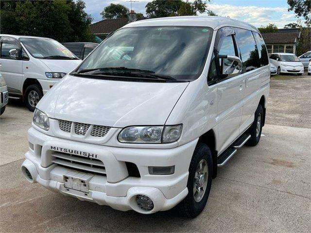 Used Mitsubishi Delica Silverwater, 2005 Mitsubishi Delica PD6W Spacegear Chamonix White Automatic Van Wagon