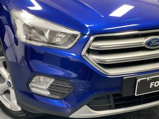 2017 Ford Escape ZG Trend Deep Impact Blue 6 Speed Sports Automatic SUV.